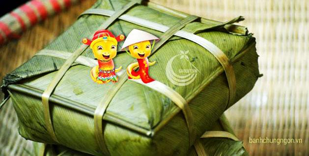 Bánh chưng ngon Bờ Đậu - Thái Nguyên