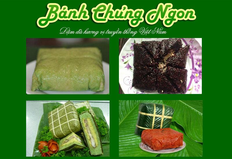 Bánh Chưng Ngon, món ngon của người Việt
