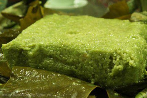 Bánh chưng cốm - Bánh chưng đặc biệt