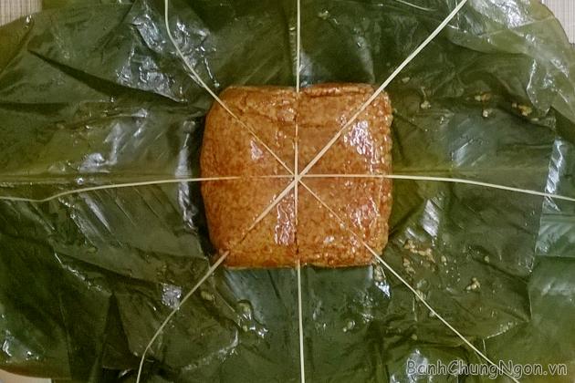 Bánh chưng gấc ngon ở Hà Nội