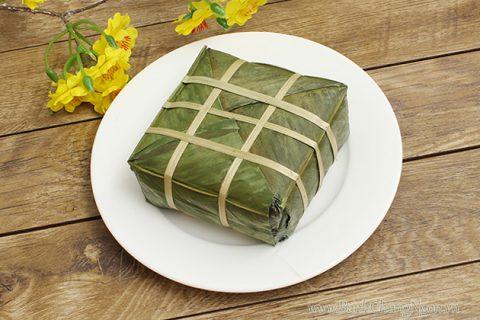 Bánh chưng rất dễ bị mốc, thiu nên cần được để ở nơi thoáng mát.