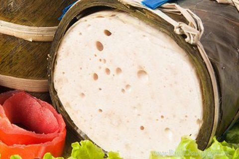 Giò lụa Ước Lễ đậm đà hương vị truyền thống