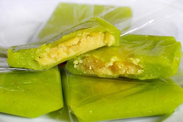Bánh cốm ngon - Đặc sản Hà Nội