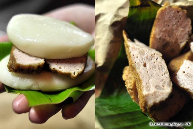 Bánh dày chả ngọt đặc biệt - Ngon thơm ngậy