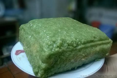 Bánh chưng ruột xanh, mềm dẻo