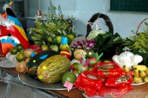 Một mâm cỗ Tết Trung Thu đẹp và ý nghĩa của người Việt