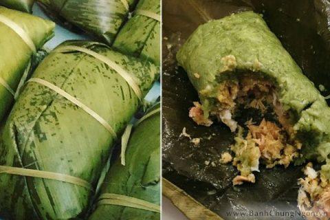 Bánh chưng gù đặc sản món ngon ở Hà Giang, Yên Bái, Lào Cai