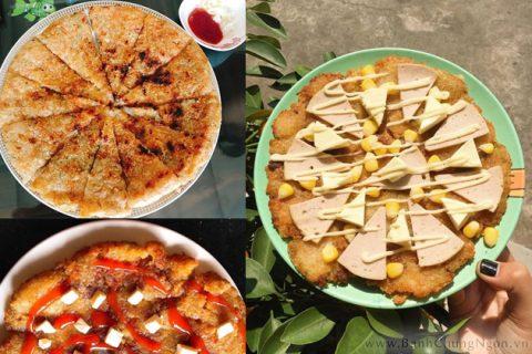 Bánh chưng rán nước lọc - Pizza đặc biệt từ Việt Nam